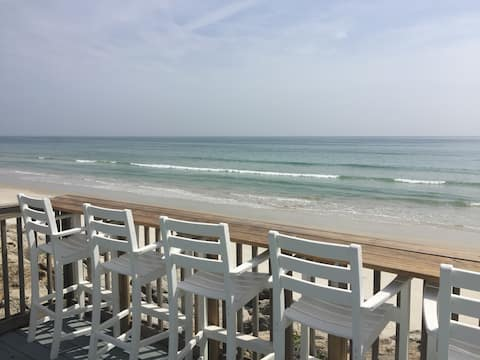 Direct Oceanfront New Smyrna Beach House private