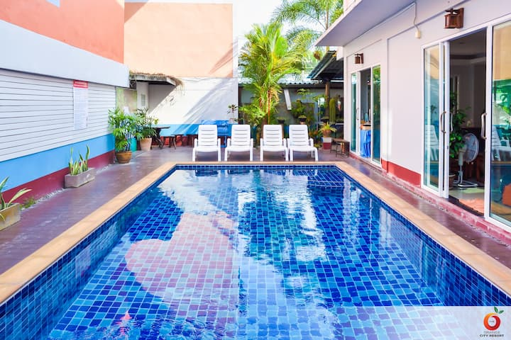 Connected 2BR/4PP @The Orange City Hotel Aonang