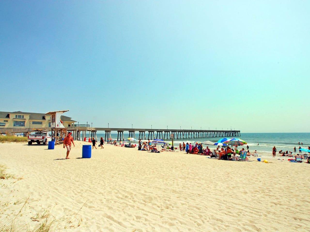 Steps to the Beach!