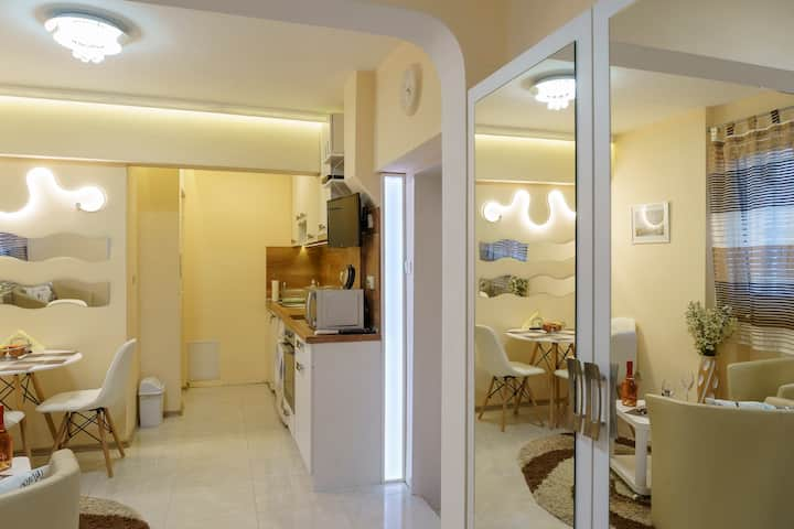 Studio on the ground floor in the center of Sofia