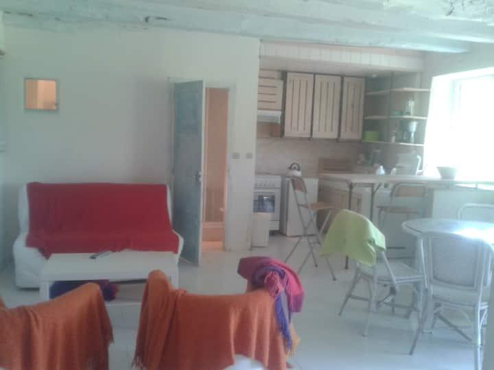 studio + chambre + terrasse