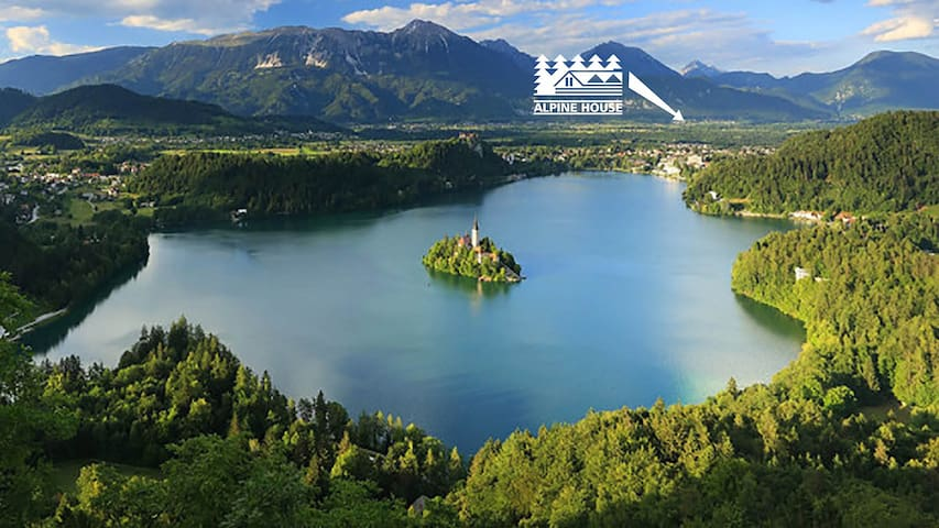 Our village is close to Bled.