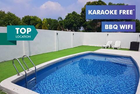20%Off☆A'Famosa.Luxury.WiFi.Pool.BBQ.Karaoke