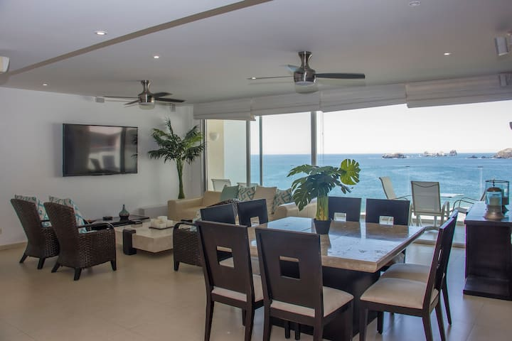 Beautiful condo in Amara Ixtapa, Zihuatanejo