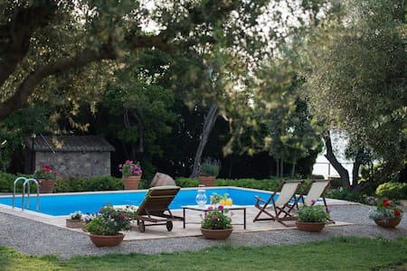 Villa Feia with private swimmingpool - Korakochori - Ev