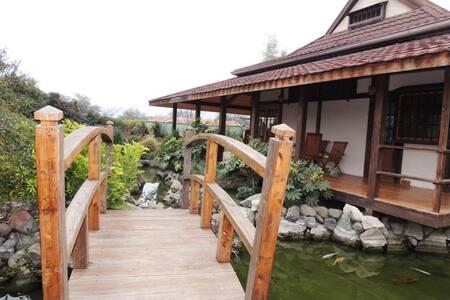 Casa Japonesa en Condominio en Chicureo - サンティアゴ