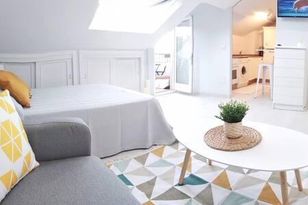 Coqueto Estudio con terraza en Sanxenxo.