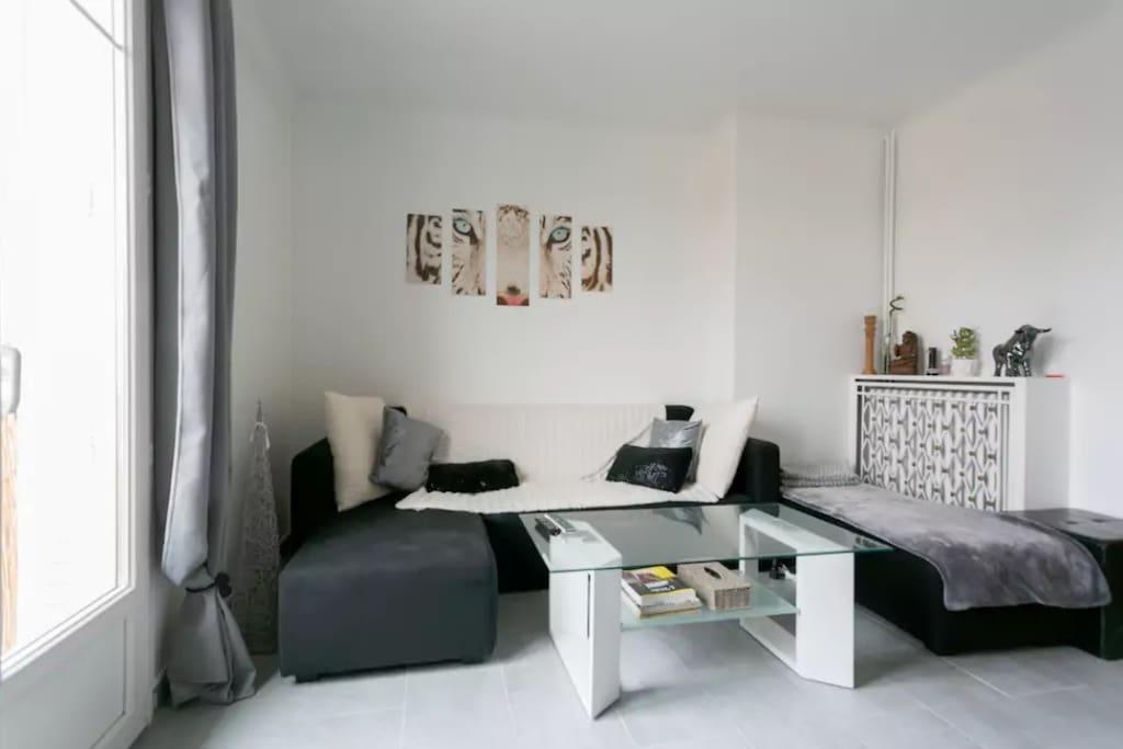 New appartement 5 personnes entre paris et disney for Chambre 4 personnes paris