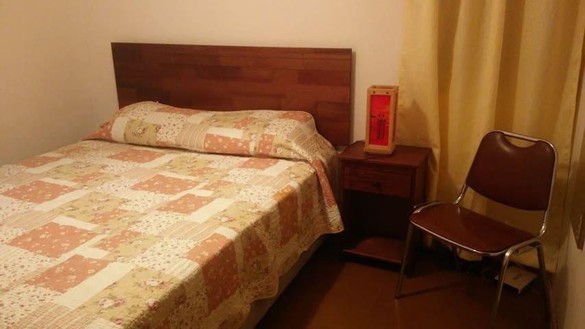 Habitación con cama de dos plazas - Santiago - House
