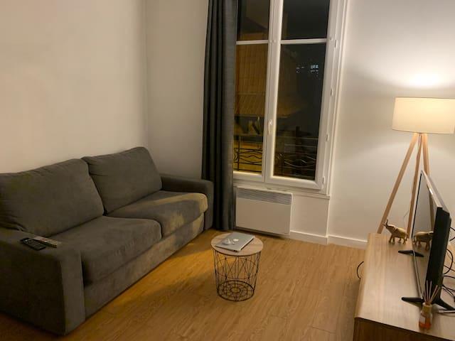 Paris, la defense Magnifique studio cosy et calme🥰
