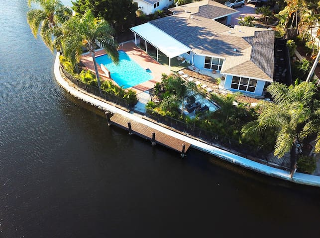 Luxury Waterfront Home w/ Private Saltwater Pool
