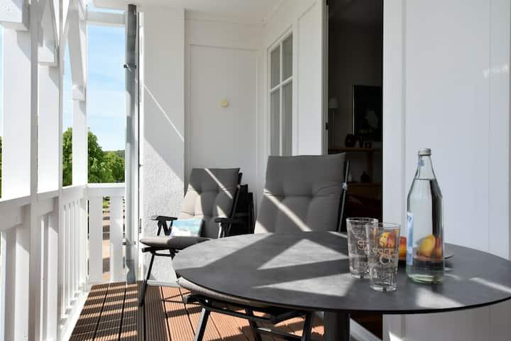 Apartamento con encanto en Mecklenberg con balcón