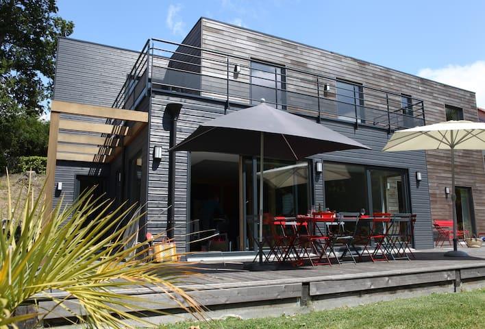 Les Planches, villa contemporaine en Baie de Somme - Saint-Valery-sur-Somme