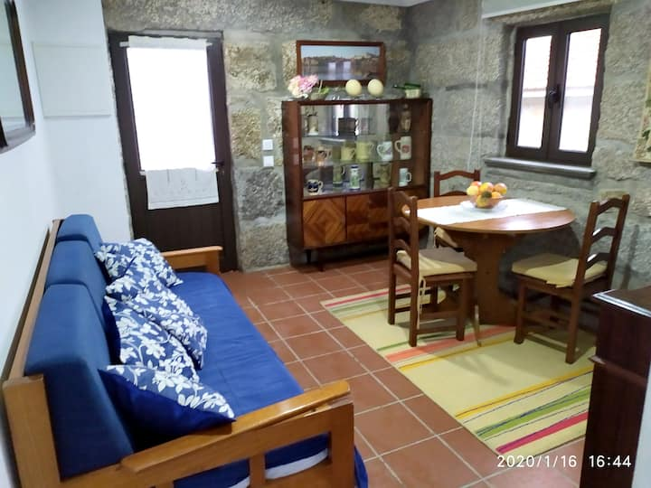 House with one bedroom in Fornos, with wonderful mountain view, shared pool, furnished balcony