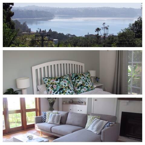 French Bay House - Titirangi - Bed & Breakfast