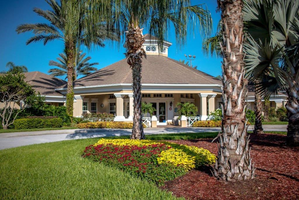 Resort clubhouse - exterior