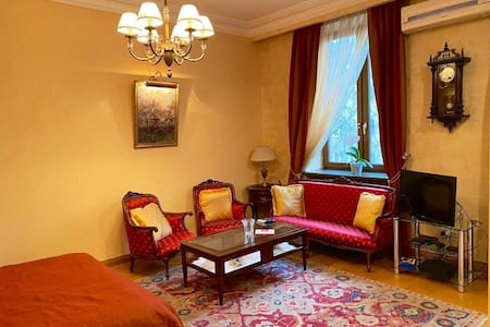 Cozy apartment, minute walk from republic square.