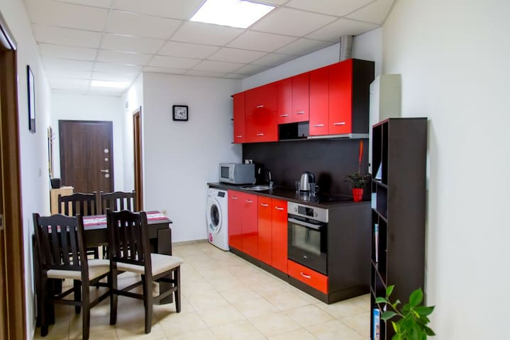 Modern kitchen. Fully equipted
