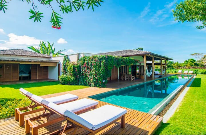 Bah026 - Beautiful beach house with pool in Trancoso