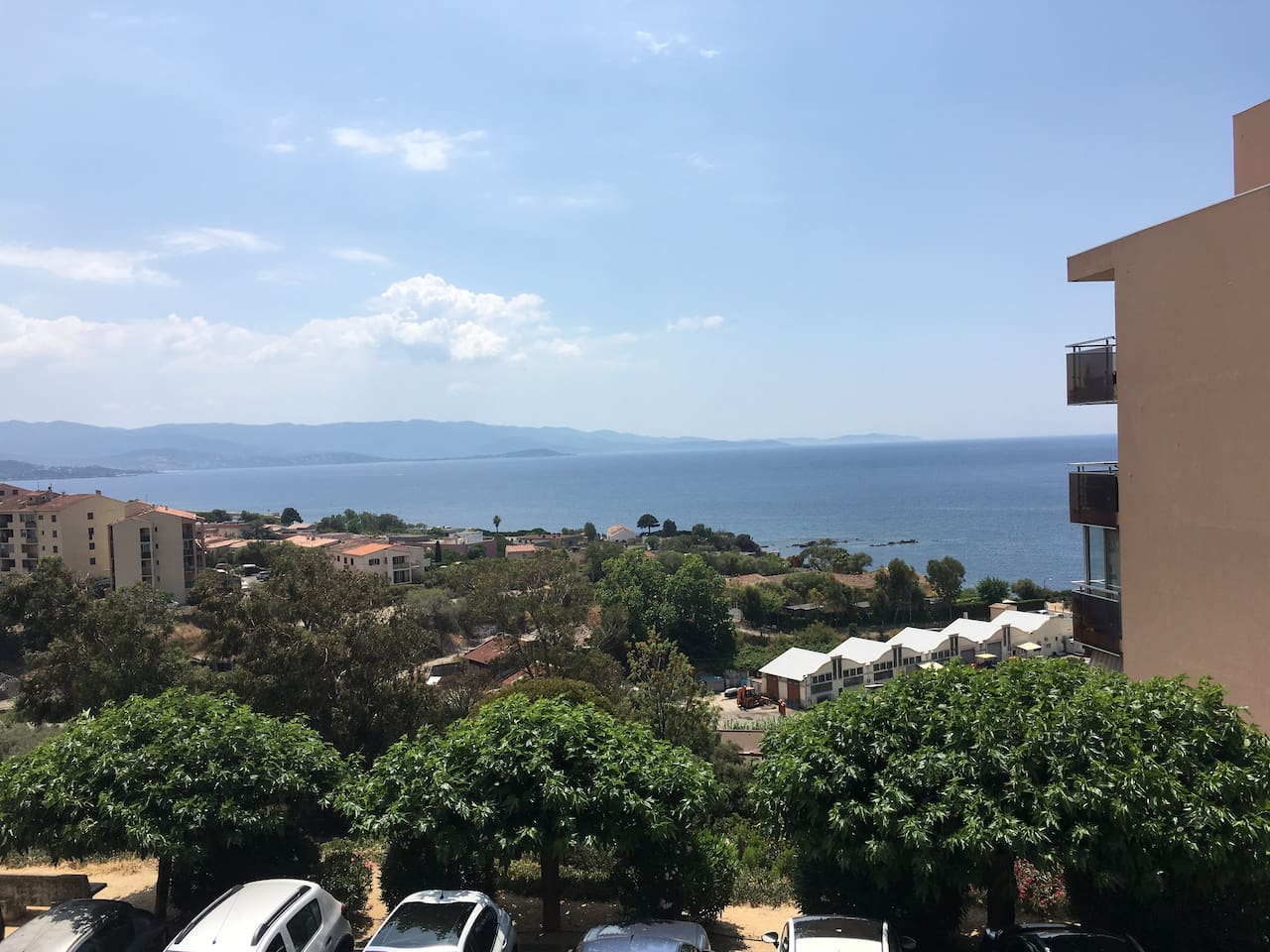T3 vue mer entrée de ville Ajaccio