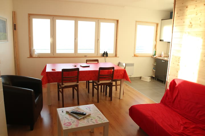 Nice Apartment with a beautiful view on the sea. - Bray-Dunes - Apartment