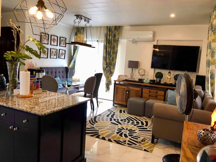 Balinese inspired staycation in Taguig 3BR
