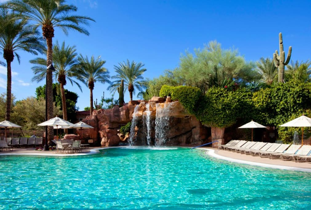 The pool is a great place to enjoy the Arizona sun!