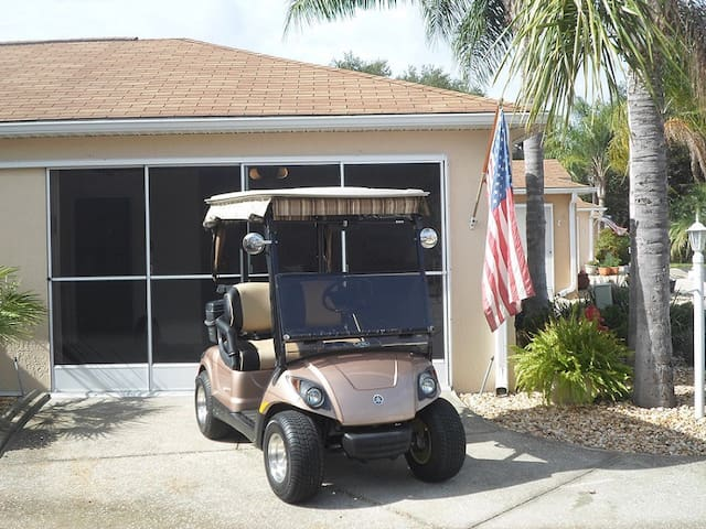 Villa near Spanish Springs with Golf Cart