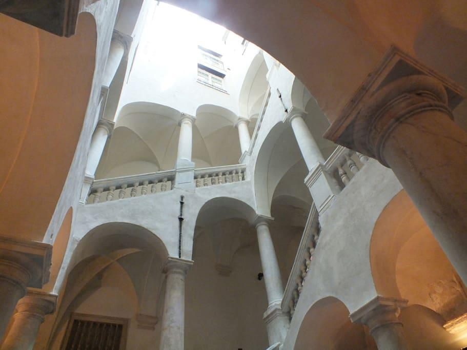 il vano scale del 1500