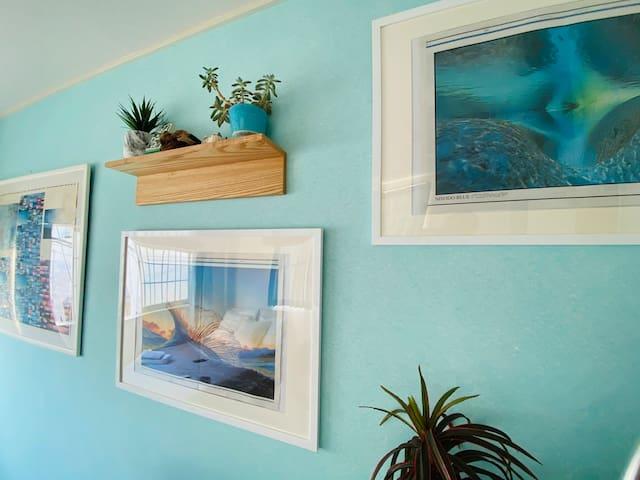 お部屋まるごと貸切/海辺生活を体験出来ます。