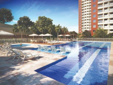 Apartamento - Ponta Negra - Manaus - Cond. Fechado