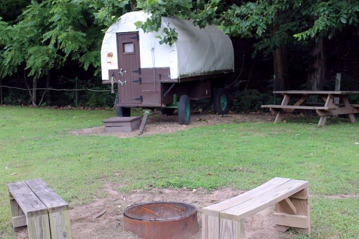 Sheepherder's Wagon at Crystal Creek Ranch