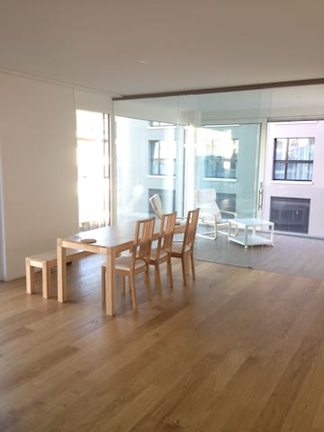 Bright room in city center - Zug - Wohnung