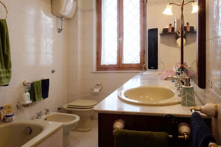 Il vostro bagno privato / your private bathroom