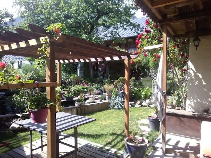 Gite Le Moulin 4 p.-BALNEO-jardin zen,SKI,vélo,lac