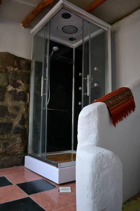 Cabina de ducha Cabaña Divisadero