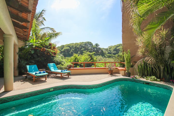 Jungle view with private pool