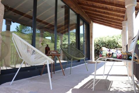 Designerboerderij in het hart van Ribeira Sacra,Pombar