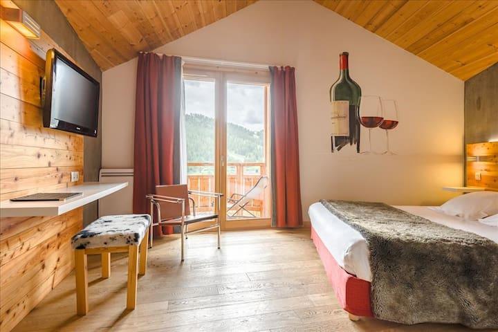 Chambre Double - Standard avec balcon