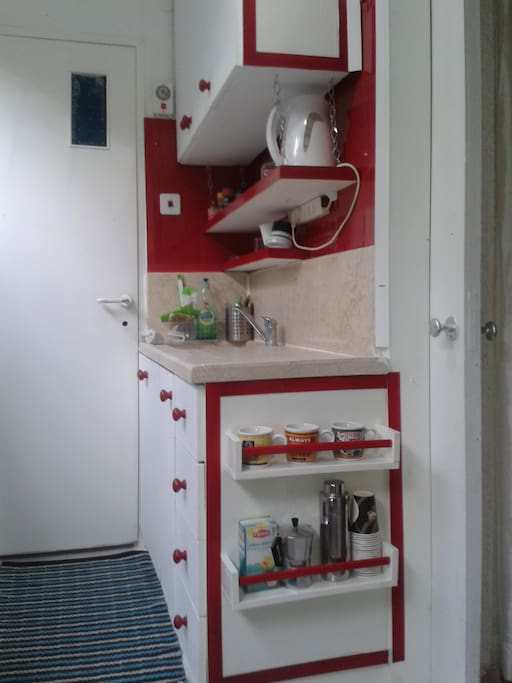 Compact kitchen full equipped