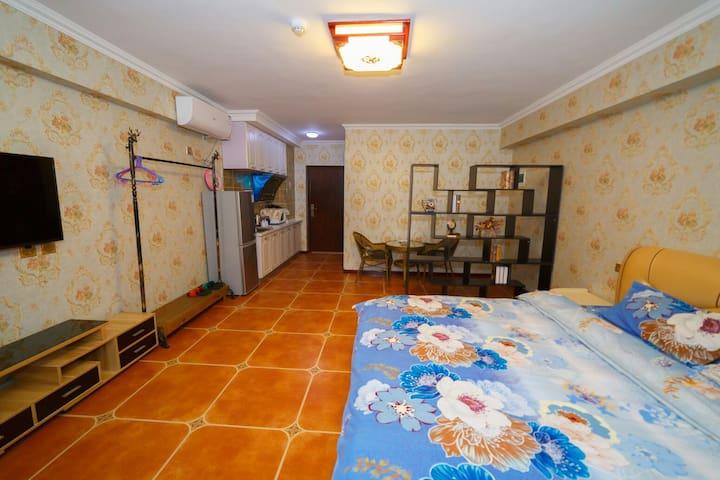 考拉精品公寓 豪华景观大床房