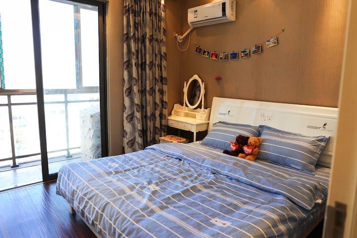 【星辰居&壹】万豪城市广场简欧一室一厅一卫精装温馨公寓