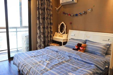 【星辰居&壹】万豪城市广场可做饭简欧一室一厅一卫精装温馨公寓