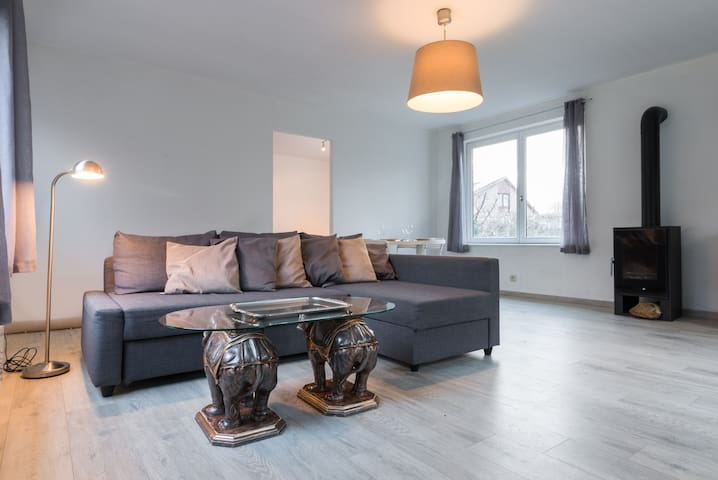 Bungalow en pleine nature - Aalst - Apartment