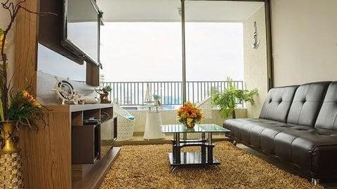 Argote Suite dpto. Excelente ubicado frente al mar