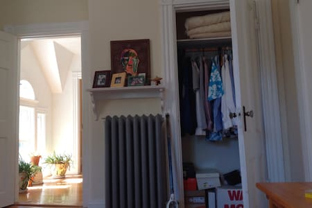 cozy 1Bd 8min wk. to T free Parking - Malden - Casa