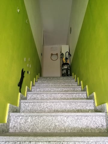 Mansarda nel verde