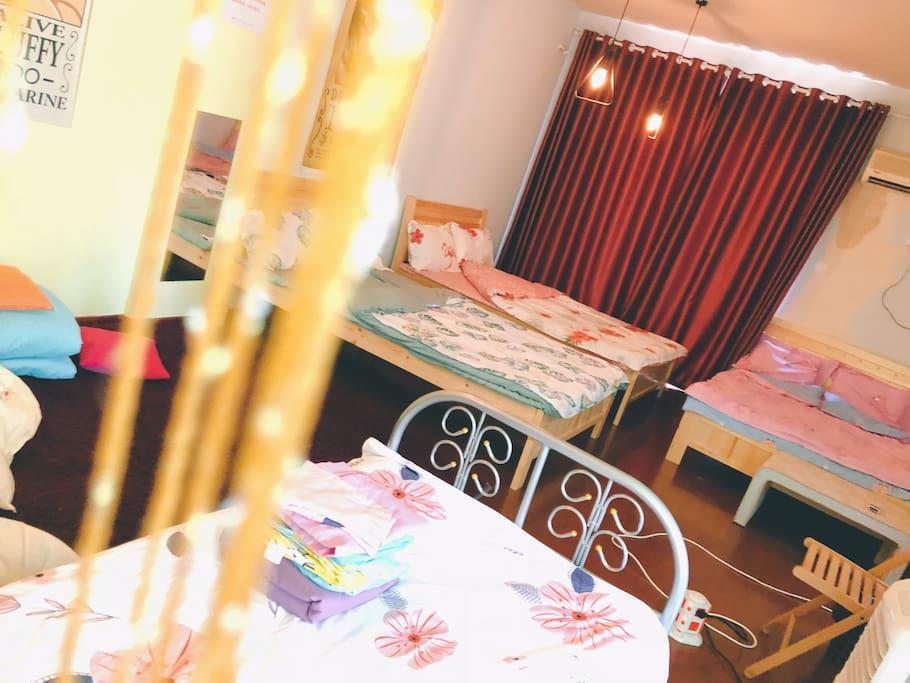 卧室三 多床房 可加床 也可增加榻榻米