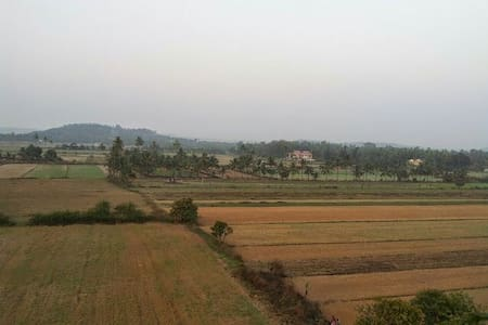 Holiday apartment with field view - Saligao - Apartemen