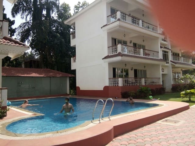 Quaint Holiday Home.  1 bhk apartment in Siolim